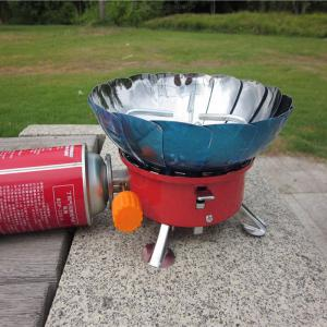 Portable Windproof Camping Stove Collapsible Butane Gas Stoves Outdoor Picnic Burners