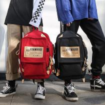 Unisex-Canvas-Backpack-Large-Capacity-Schoolbag-Casual-Shoulders-Bag-For-Students