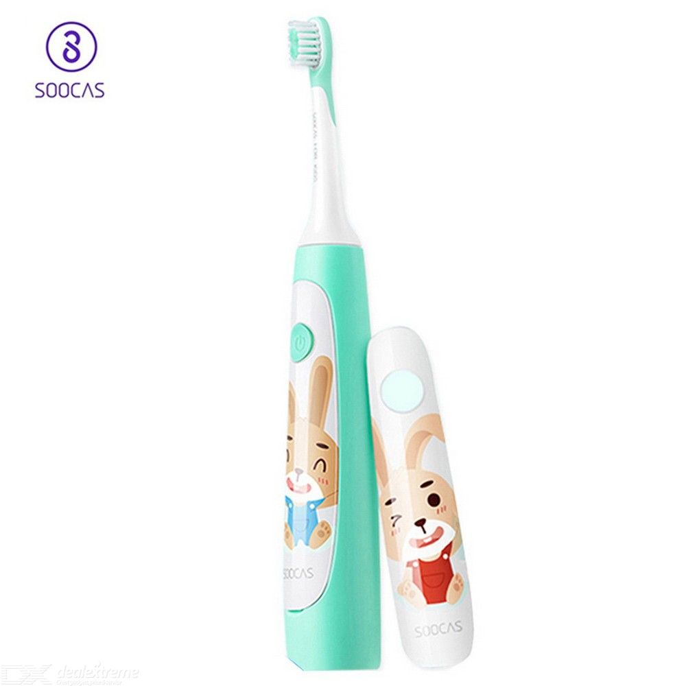 Xiaomi SOOCAS C1 Ultrasonic Cute Electric Toothbrush IPX7 Waterproof Rechargeable Cleaning Tooth Brush For Baby Kids