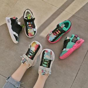 Kids Running Tennis Shoes Lightweight Casual Comfy Walking Sneakers For Boys Girls