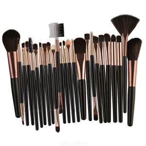 25PCS MAANGE Professionelle Make-up Pinsel Set Kosmetik Pinsel Werkzeuge Sammlung