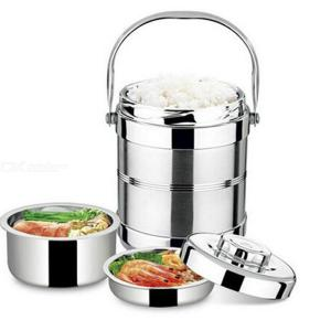 1.4L Vacuum Insulated Lunch Box Stainless Steel Thermal Food Soup Thermos Jar Container