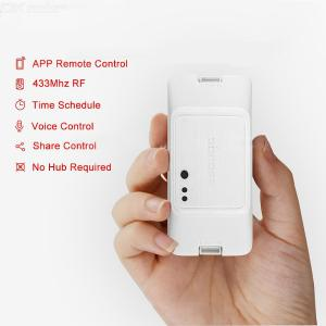 Sonoff RF R3 433Mhz RF Smart WiFi Delay Switch, Smart Home Light Controller Via EWeLink APP Works With Alexa