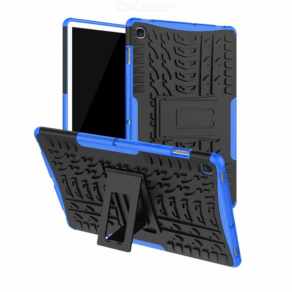 CHUMDIY 3D Relief Double-protection Tablet Case with Stand for Samsung Tab S5E T720 10.5 inch