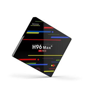 H96 MAX Plus Android 9.0 RK3328 Quad-Core 4K HD Smart Media Player TV Box For Home