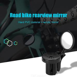 2019 Bike Handlebar End Mirrors Cycling Back View Mirror For MTB Road Riding Racing Rearview Mirror Bicycle Accessories