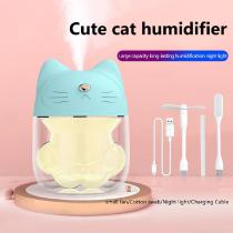 Cute-Cat-Claw-Humidifier-Creative-Mute-USB-Rechargeable-Aromatherapy-Machine-With-Night-Light-And-Small-Fan-For-Home-Office