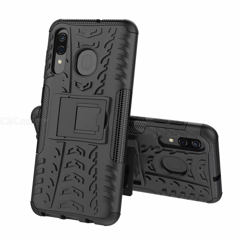 Dx coupon: CHUMDIY Protective Back Cover Phone Case with Stand for Samsung Galaxy A20  A30