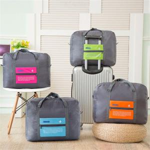 Foldable Nylon Luggage Bag Large Capacity Storage Bags For Outdoor Travel