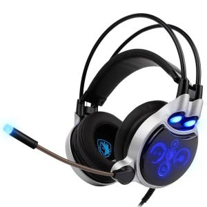 SADES SA908 Professional Noise Cancelling Gaming Headphones Digital 7.1 FHD Earphones Microphone Ultimate Wired Gaming Headsets