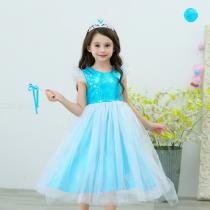 Girle28099s-Formal-Princess-Dresses-With-Sequins-Decoration-Tulle-Mantle-Halloween-Cosplay-Costume