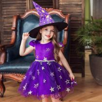 Girle28099s-Formal-Princess-Dresses-Halloween-Cosplay-Costume-Sorceress-Dress-With-Cap