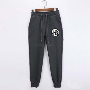 Mens Dragon Ball Pants, Casual Loose-fitting Cotton Sports Pants For Men