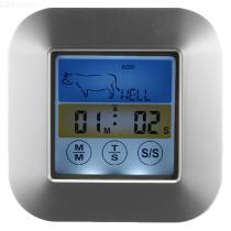 TS-S64-Color-Screen-BBQ-Thermometer-With-Probe-Touch-control-Food-Grill-Thermometer-With-Time-Mode