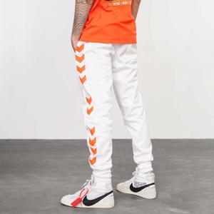 INF Mens Contrasting Casual Slim Fit Drawing String Sports Pants
