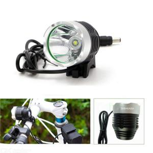 1200LM Super Bright Bicycle Front LED Light 4 modes CREE XML T6 Bike LED Lamp Cycling Headlight - Black