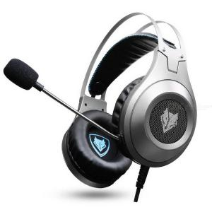 Professional Gaming Headset for Xbox One PS4 Playstation 4, Wired Headphones Computer PC Mic Stereo Fortnite Gamer Microphone
