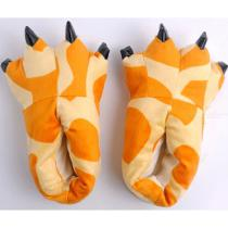 Winter-Warm-Soft-Indoor-Floor-Slippers-Flannel-Paw-Animal-Leopard-Monster-Dinosaur-Claw-Plush-Cotton-Shoes-4623