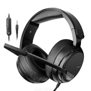 Gaming Headset Best 3.5mm PC Gamer casque Stereo Gaming Headphones with Mic Band for New Xbox OneLaptopPS4