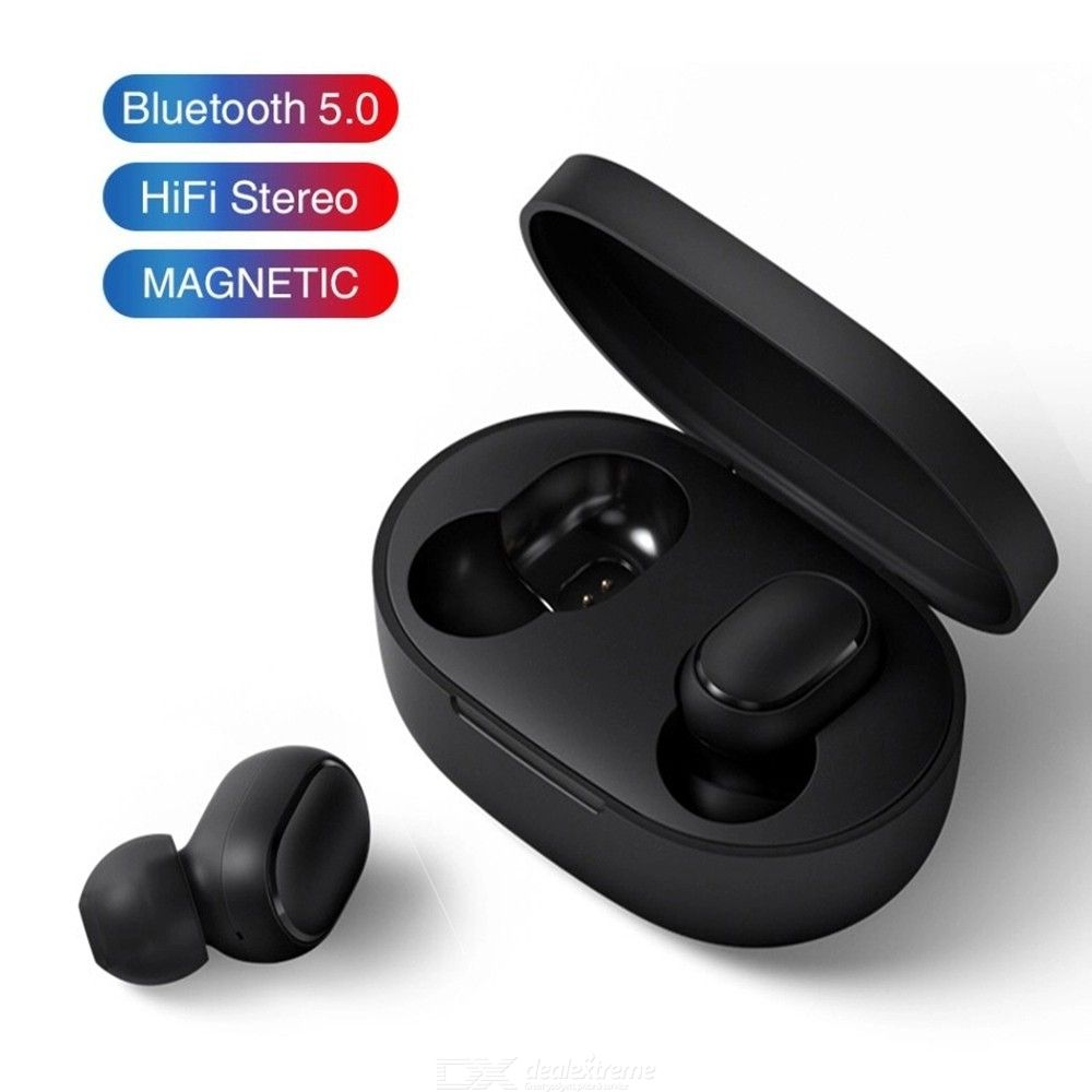 Bluetooth 5 0 Wireless Earphones Noise Cancelling 3D Stereo Earbuds with  Mic Charging Case for Xiaomi iPhone Samsung