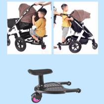 Sturdy-Stroller-Board-Sit-and-Stand-Wheeled-Rider-Board-For-Multiple-Children