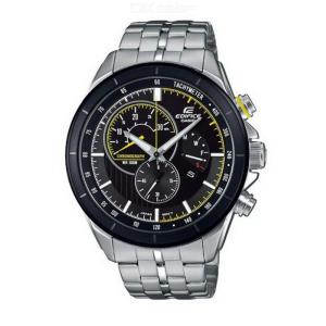 Casio Edifice EFR-561DB-1A Gents Quartz Watch With Stainless Steel Strap