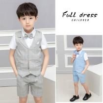 Formal-Wear-Clothes-Waistcoat-2b-Shirt-2b-Shorts-2b-Bow-Tie-4-Piece-Set-Party-Wedding-Gentleman-Outfits-For-Boys