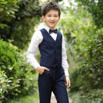 Formal-Wear-Clothes-Waistcoat-2b-Shirt-2b-Trousers-2b-Bow-Tie-4-Piece-Set-Party-Wedding-Gentleman-Outfits-For-Boys