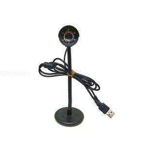 Classic 1080P Live Streaming Computer Web Camera With Stereo Microphone For Desktop Or Laptop Webcam - Black