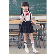 Girle28099s-Formal-Wear-Clothes-Suspender-Skirt-2b-Shirt-2b-Bow-Tie-3-Piece-Set