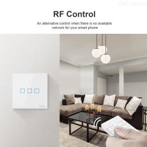 Sonoff Wifi Smart Wall Light Switch Compatible With Alexa Google Assistant APP Remote Control Timing Smart Touch Switch UK