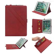 Flip-Open-Leather-Protective-Tablet-Case-Cover-With-Card-Slots-And-Kickstand-For-IPad-Pro-105-Inch