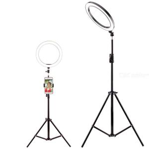 360 Degree Rotating 16cm LED Selfie Ring Light, Studio Photography Photo Fill Lamp With Tripod Stand For Smartphone Makeup