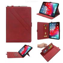Flip-Open-Leather-Protective-Tablet-Case-Cover-With-Card-Slots-And-Kickstand-For-IPad-Pro-11-Inch-2018