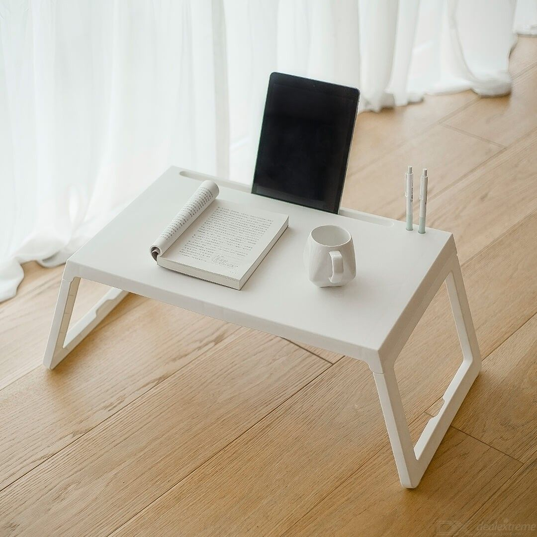 Xiaomi Youpin Jiezhi Folding Small Square Table With Charging Hole For Home