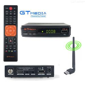 Gtmedia Freesat V7S HD Digital Mottagare DVB-S2 1080P Satellit-TV-lådemottagare - EU-kontakt