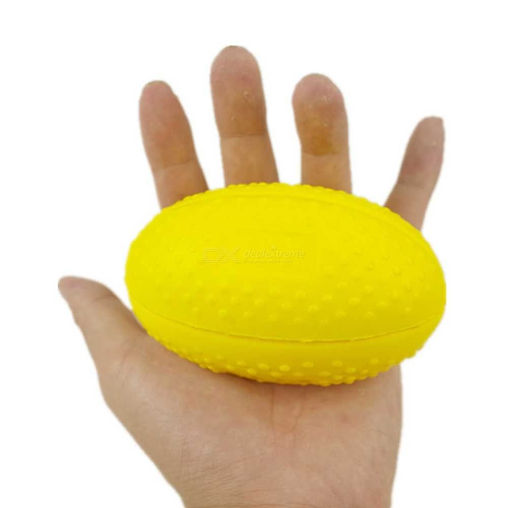 Flexible Finger Grip Ball Hand Therapy Exercise PU Balls Strength Rehabilitation Training Tool Fitness Equipment
