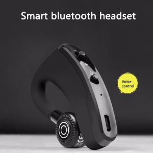 V9 Wireless Voice Control Music Earphone Handsfree Bluetooth Sports Headphone Noise Cancelling Headset for Mobile Phone