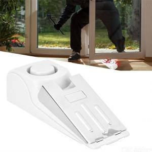 120dB Wedge-Shaped Smart Door Stop Wireless Alarm Home Security System Safety Device