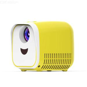 L1 Portable Mini 320P LED Projector Children Kids Gift Toy - Yellow