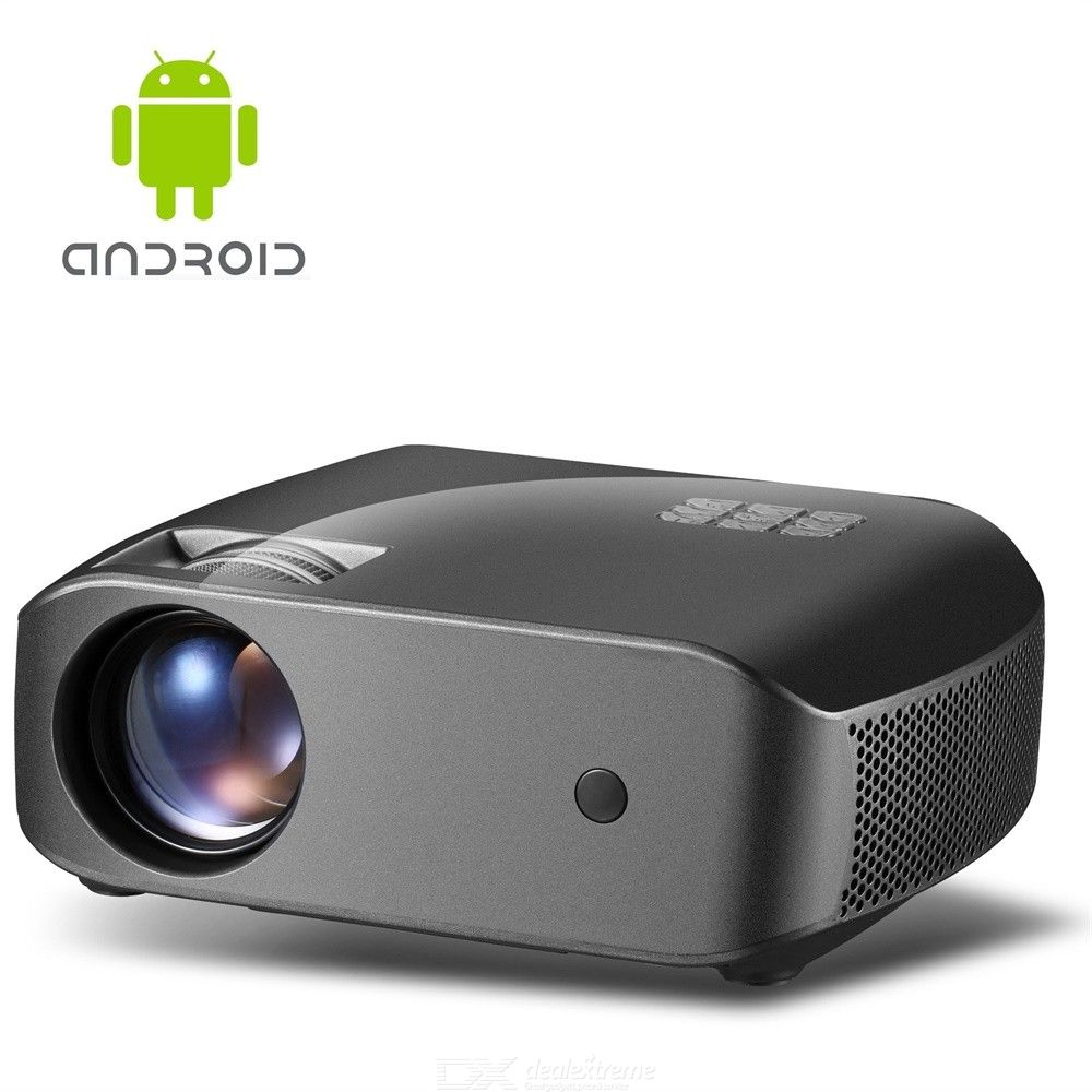 Vivibright F10UP Portable 720P HD Android Smart Digital Projector With 2GB 16GB  - EU Plug