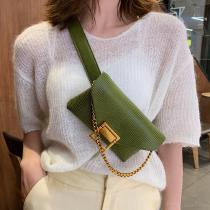 Womene28099s-Sling-Bag-Fashionable-Portable-PU-Leather-Crossbody-Chest-Bag-Waist-Bag-For-Walking-Cycling-Travelling