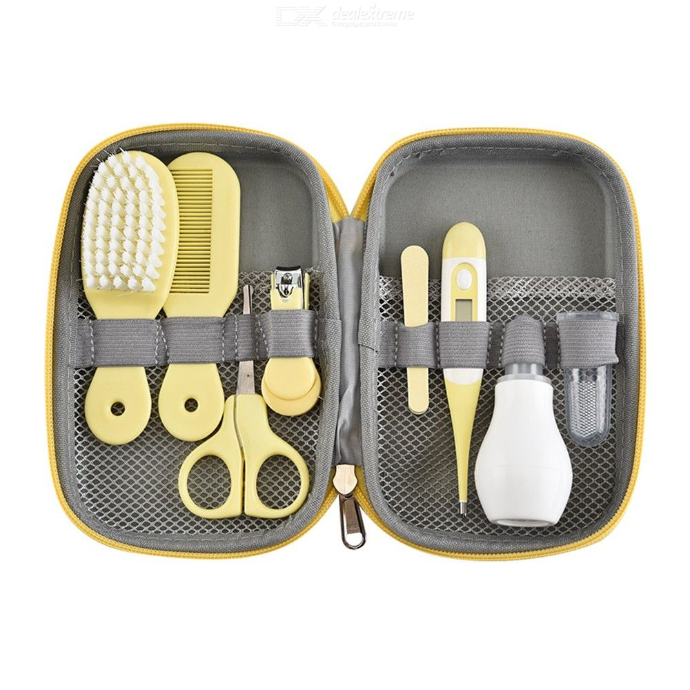 Baby Grooming Kit 8-in-1 Baby Registry Gifts For Newborn Toddlers Kids