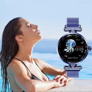 Smart Watch Women Fitness Pedometer Heart Rate Blood Pressure Female Physiological Cycle Reloj Smartwatch Bracelet