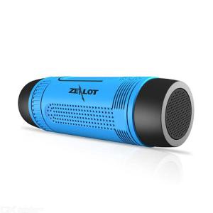 ZEALOT S1 Outdoor Waterproof Cycling Wireless Bluetooth Speaker With Flashlight And TF Card Slot