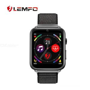 LEMFO LEM10 4G LTE Smart Watch 1GB RAM 16GB ROM Android 7.1 Fitness Tracker 1.82 Inch FHD Screen SIM Camera GPS WIFI Heart Rate