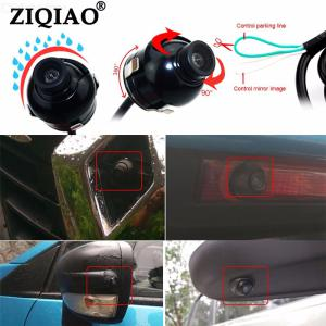 ZIQIAO ZHS-070 Car Camera with 360 Degree Rotation Front  Rear  Left  Right View HD Night Vision