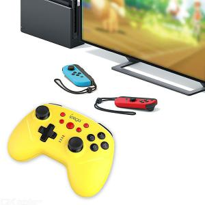 Wireless Controller For Nintendo Switch Bluetooth Wireless Gamepad Joystick With Gyro Axis Dual Shock Turbo Function