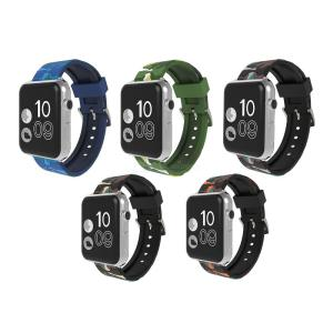 Apple Watch Camouflage Strap Band for Apple iWatch Series 1234 42mm 38mm 40mm 44mm