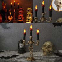 Plastic-Skull-LED-Candle-Light-Lamp-Skeleton-Candlestick-Horrible-Prop-For-Halloween-Ghost-Festival-Party-Decoration